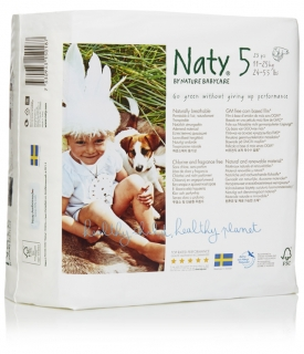 Plenky Naty Junior 11-25 kg (23 ks)